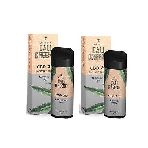 Cali Greens Stylo de Vapotage Jetable GO 120 mg