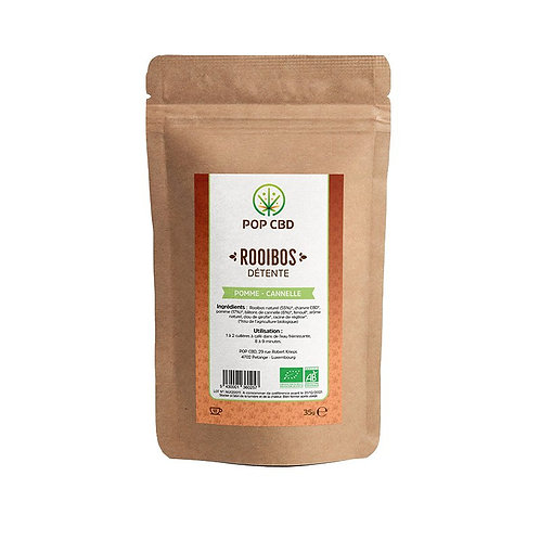 INFUSION CHANVRE ROOIBOS POMME-CANNELLE