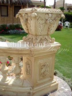 outdoor vase