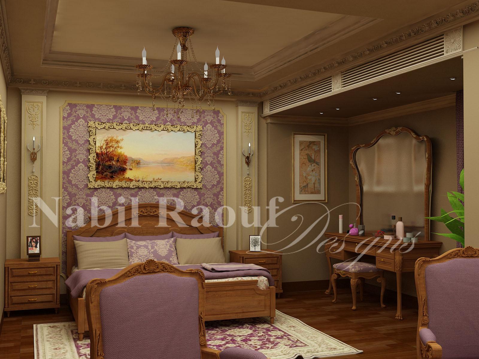 classic master bedroom