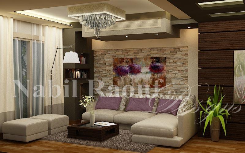 master bedroom-living area
