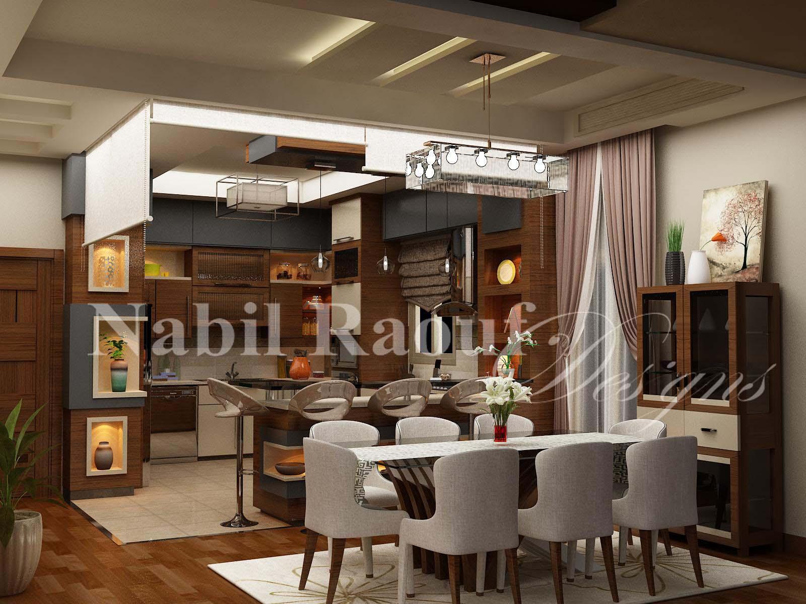 First Floor  kitchen & DINING