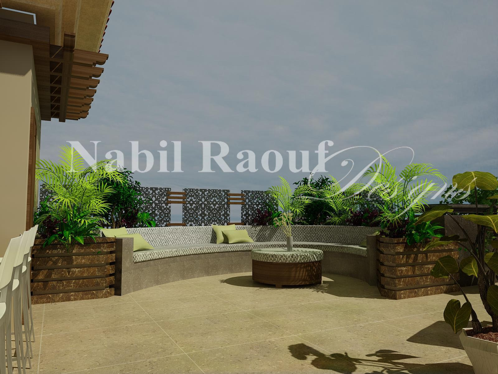ROOF OUTDOOR LIVING SPACE -2