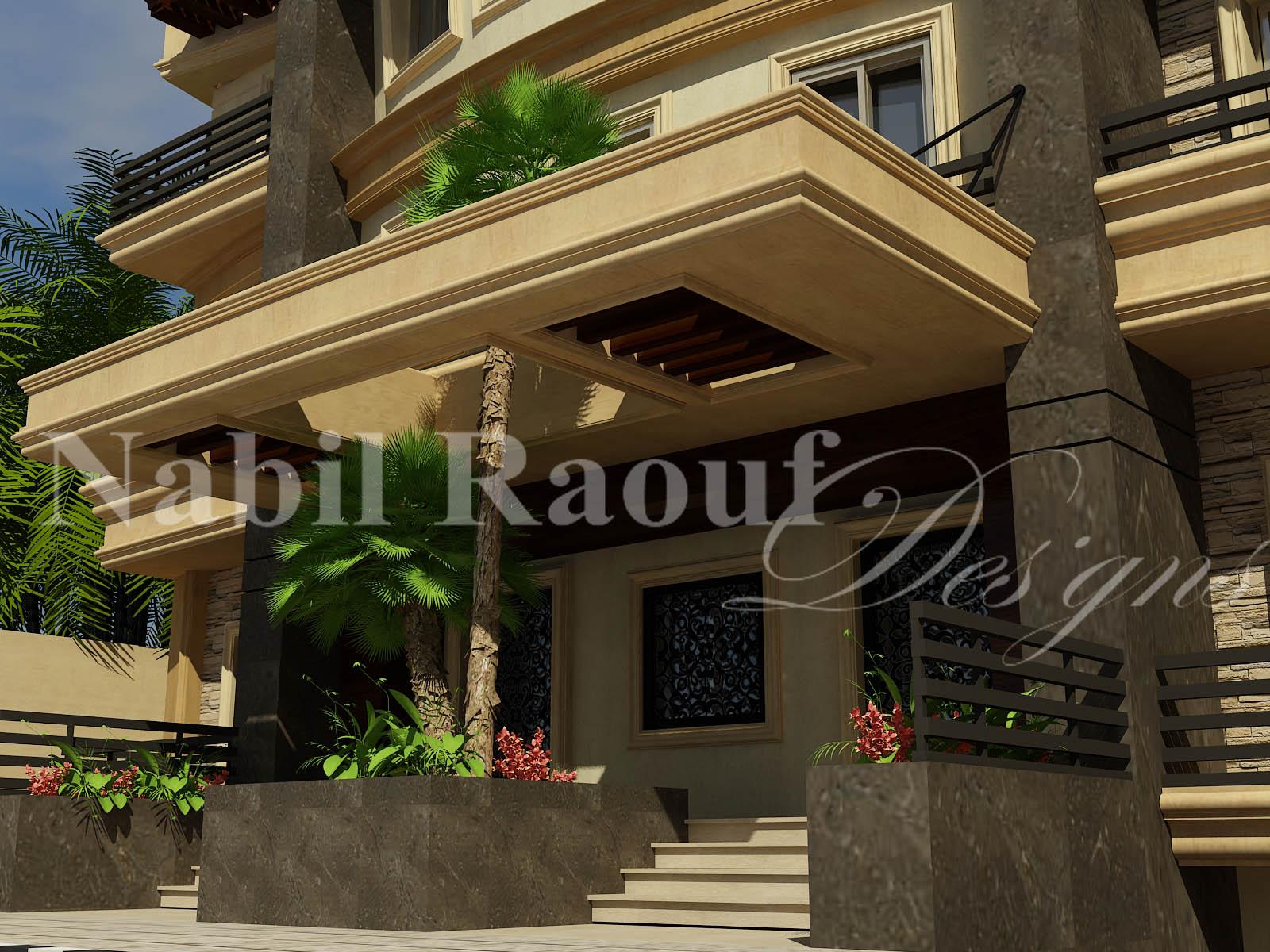 villa - entrance