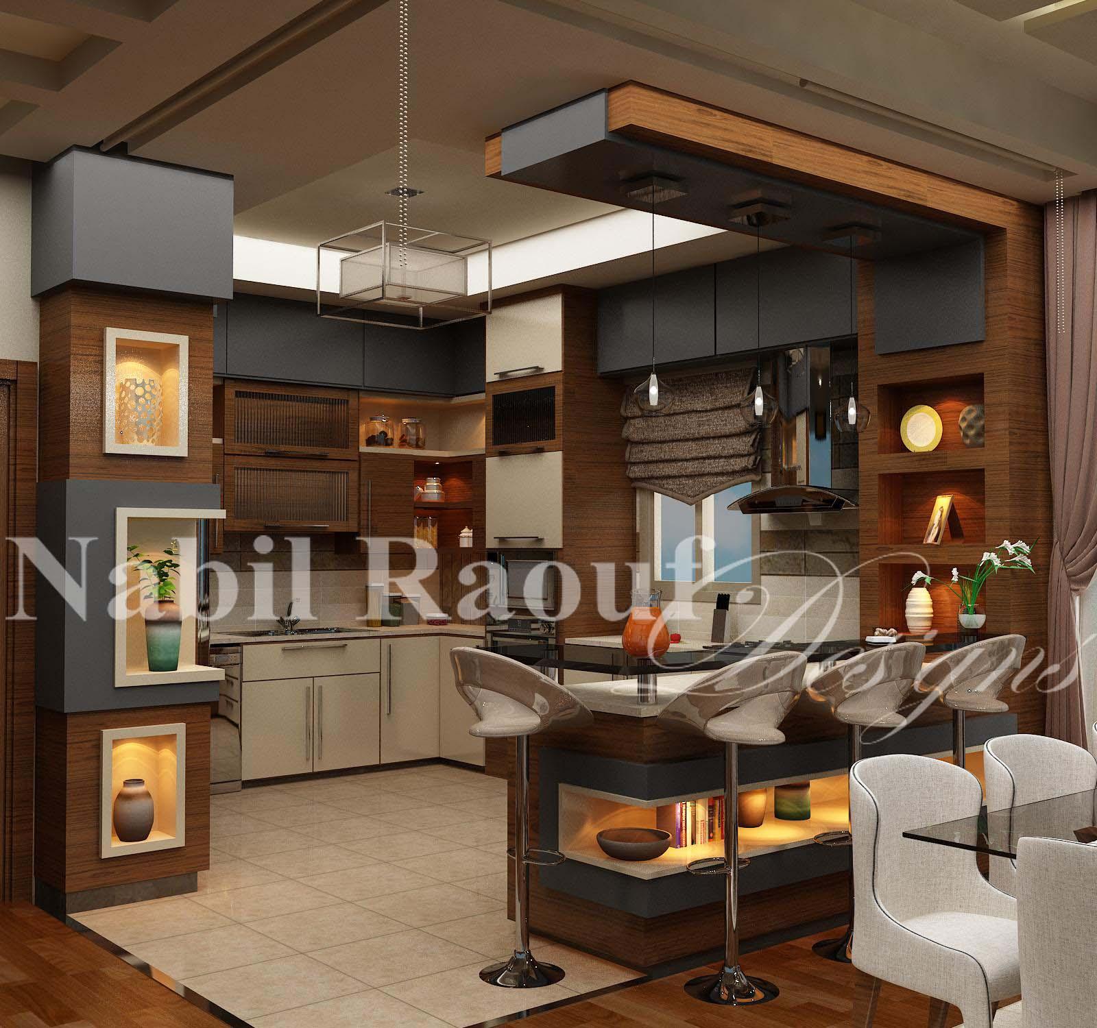 First Floor open kitchen