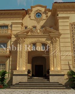 classic villa - entrance