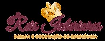 Reis Interiores - Logomarca Dourada e Vi