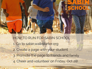 Run for Sabin School