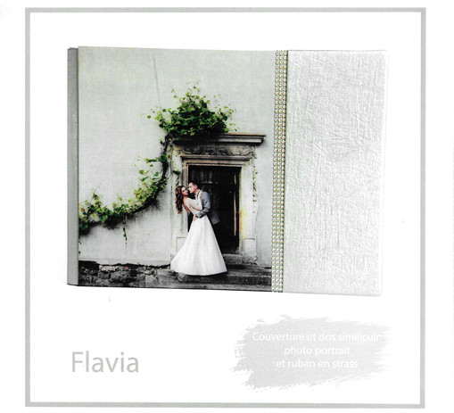 livre album book gamme flavia