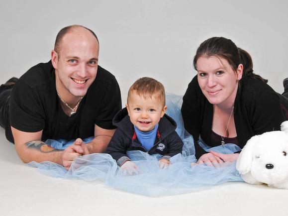 Shooting Photomike Studio Portrait Famille Enfant
