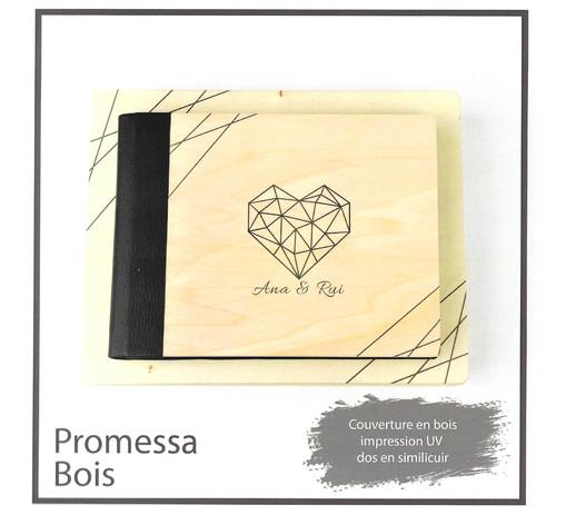 livre album book gamme promessa bois