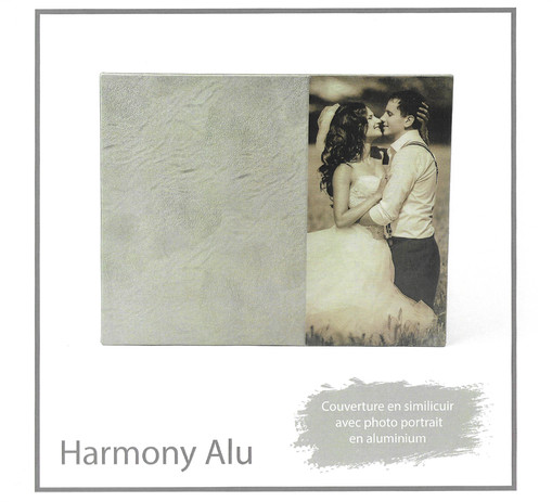 livre album book gamme harmony alu
