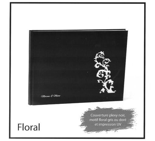 livre album book gamme floral