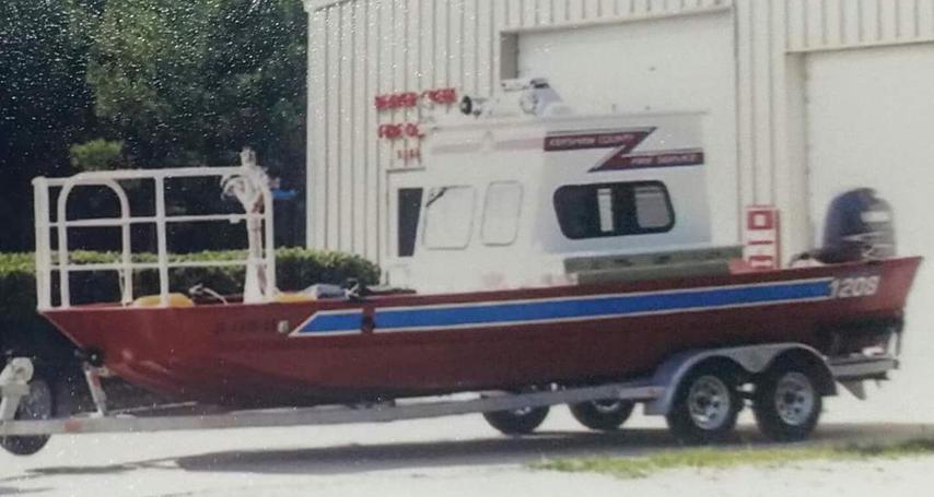 1208. Rescue boat.