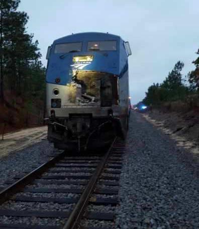 Log Truck Vs Train