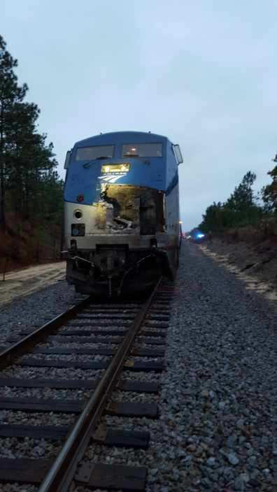Log Truck Vs Train
