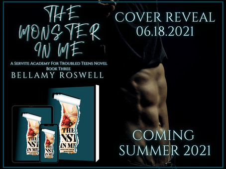 The Monster In Me Cover Reveal, Book Promo Tour, & ARC Sign Ups