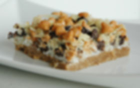 The classic Sonoma Bar is a decadent favorite treat. Gooey, sweet & salty!