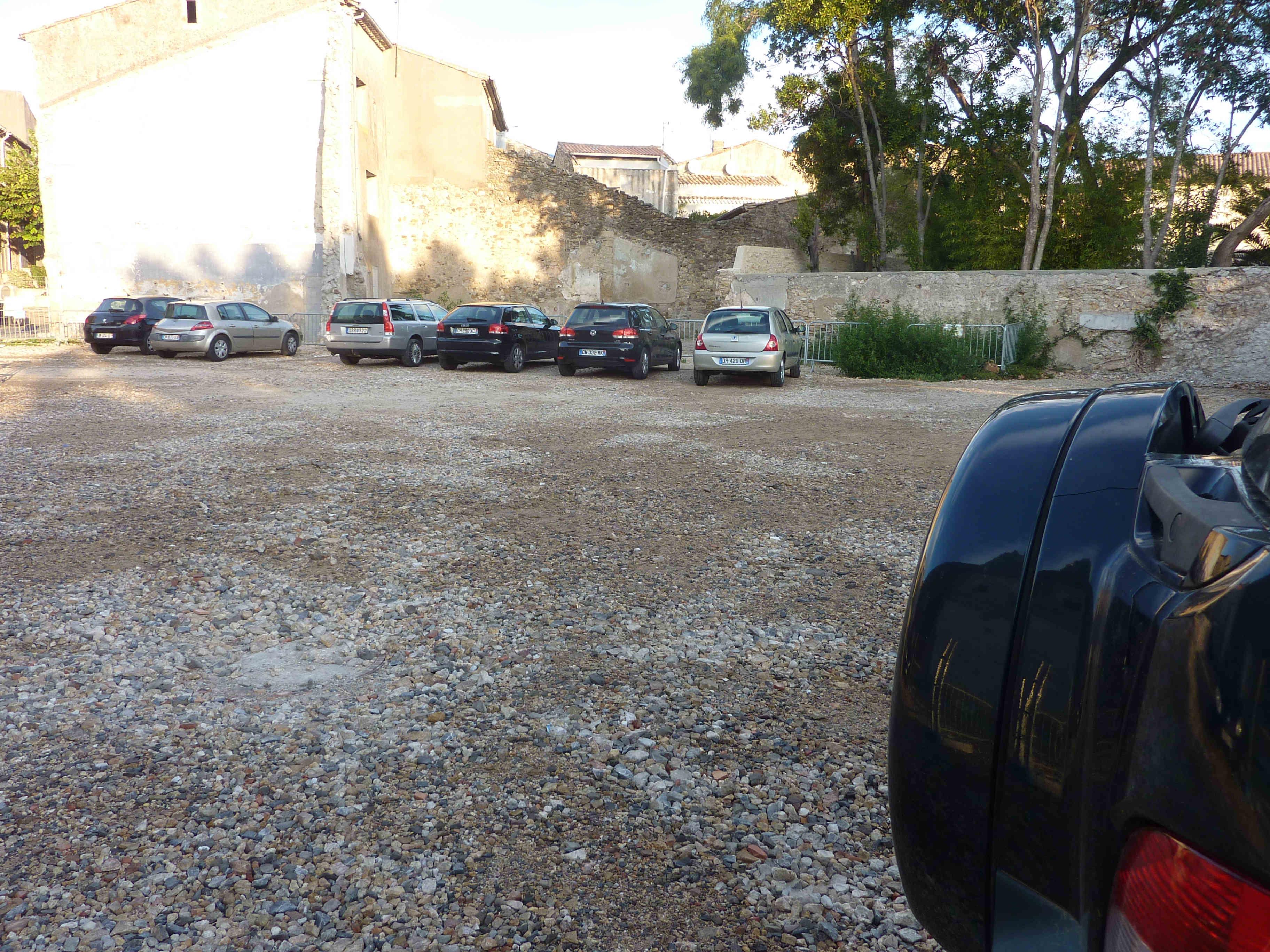 parking provisoire