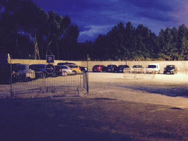 parking provisoire Jourfier de nuit