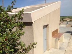 toit de la pétanque en béton