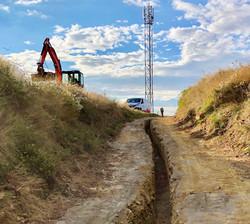 Électrification de l'antenne téléphone