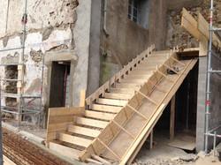 Escalier logements communaux