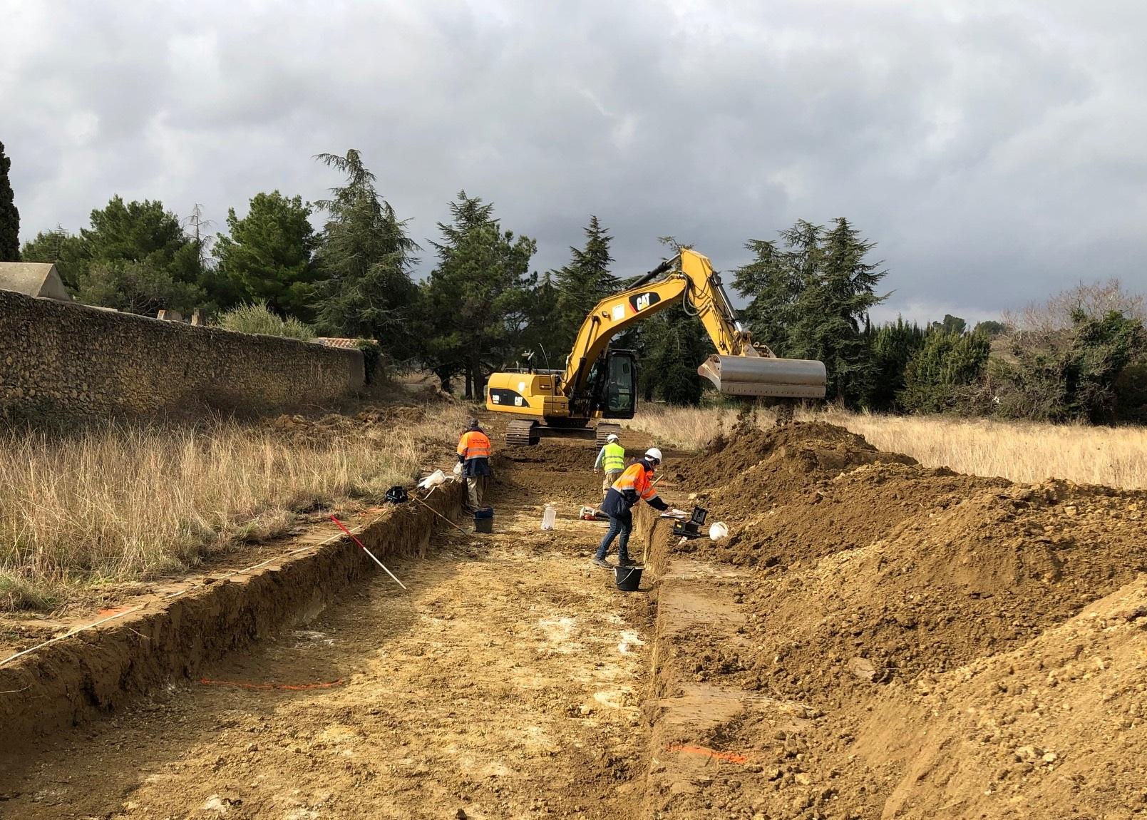 fouilles archeologiques STEP