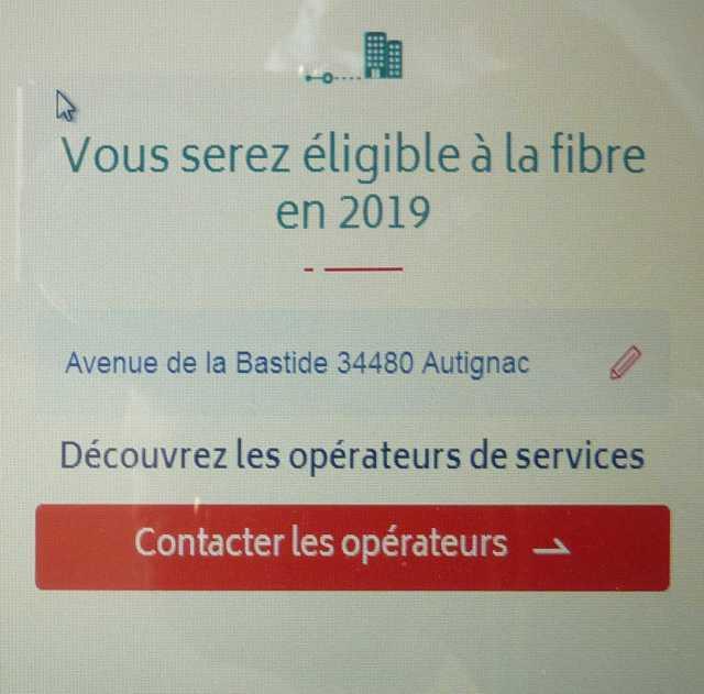 La fibre en 2019