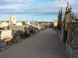 Travaux au cimetière vieux