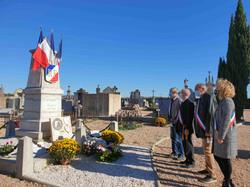 11 nov 2020 hommage cimetière