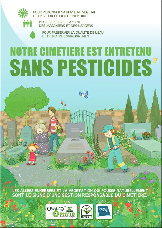 Cimetière sans pesticide