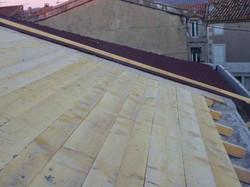 Réfection du toit de la mairie