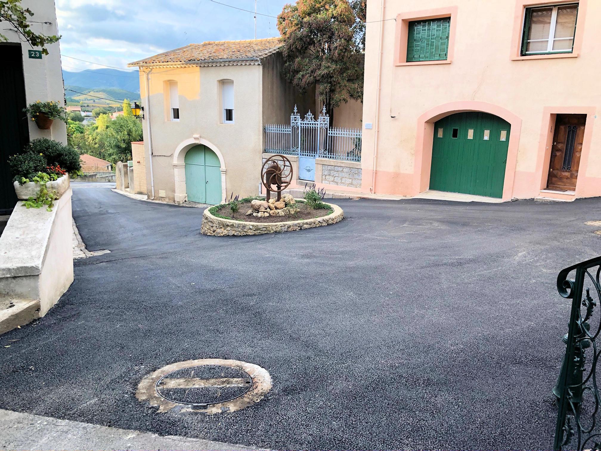 Goudronnage Pousse-tire