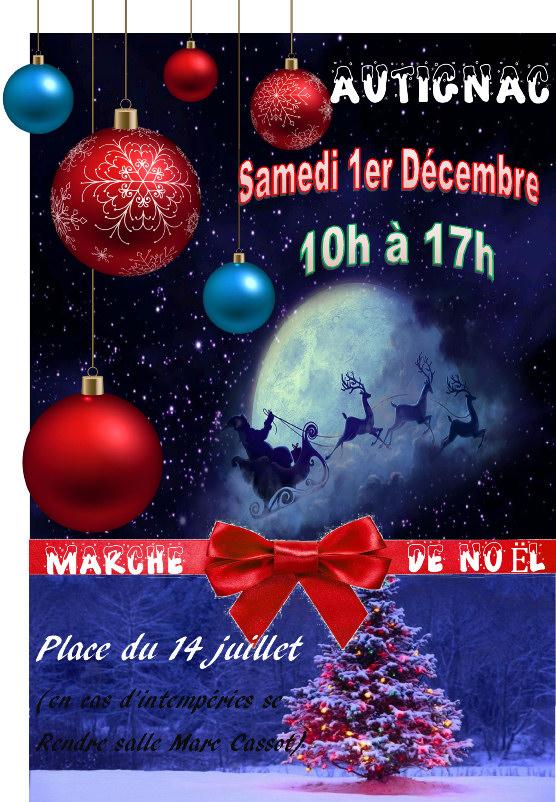 Marché de Noël 2018 : 1er décembre