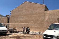 façade arrière école terminée