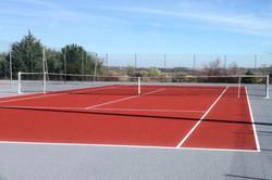 Réfection 2ème court tennis