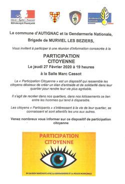 Participation citoyenne 27 février