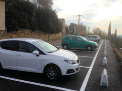 Parking chemin de ronde rénové