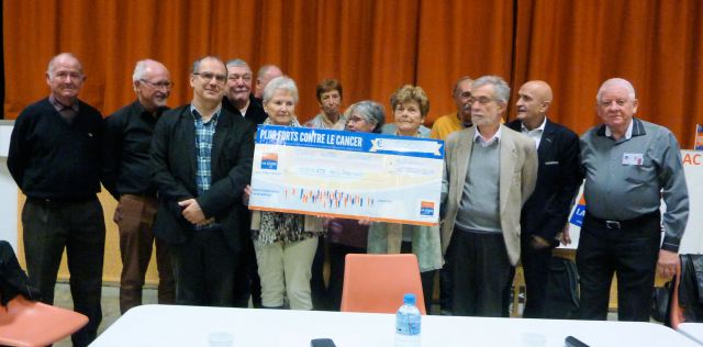 5000 € Ligue contre le Cancer