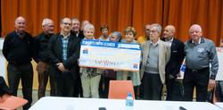 5000 € Ligue contre le Cancer
