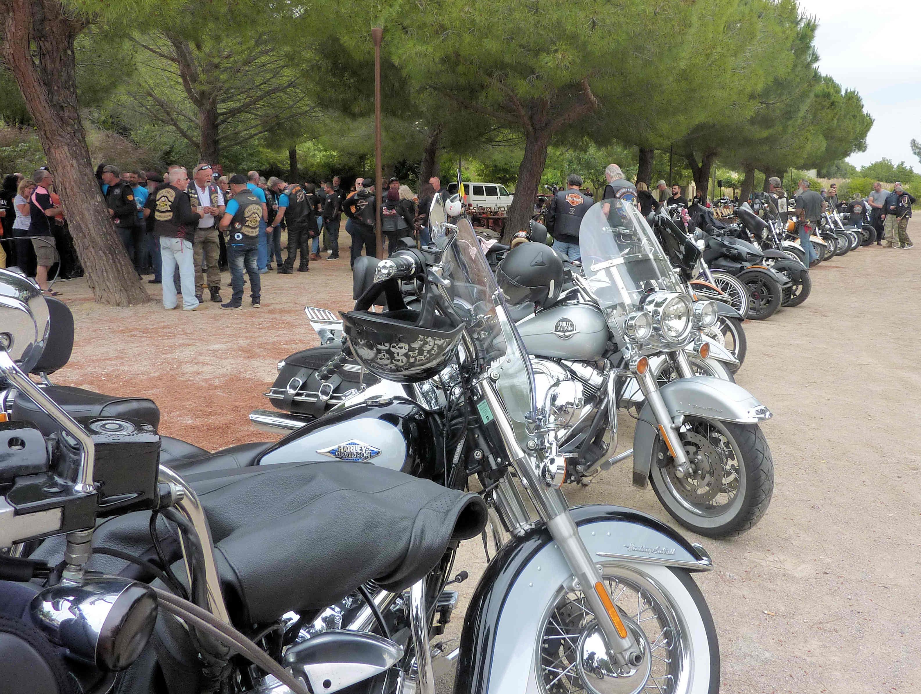 De belles motos à Autignac