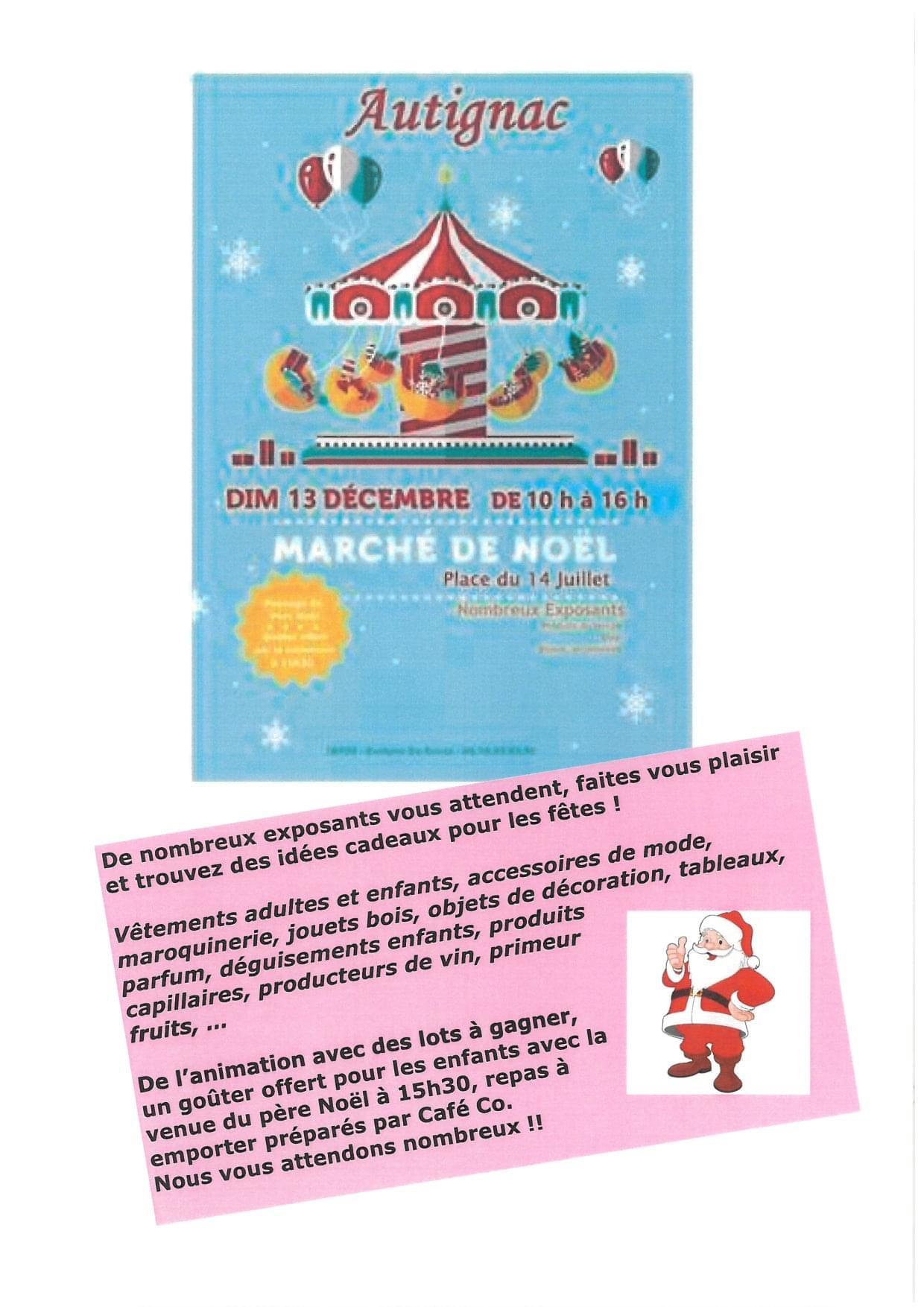marché de Noël 13 décembre