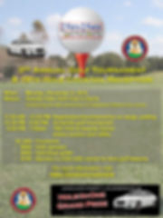 3RD ANNUAL GOLF TOURNAMENT BROCHURE FINA
