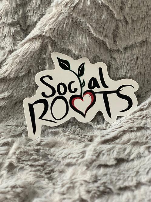 Social Roots Sticker
