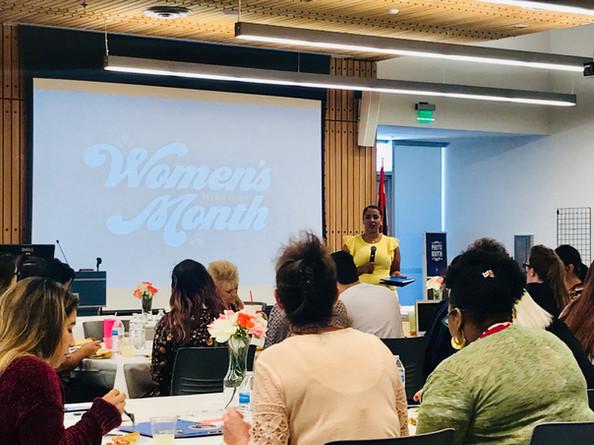 Women's History Month Keynote Speaker Ma