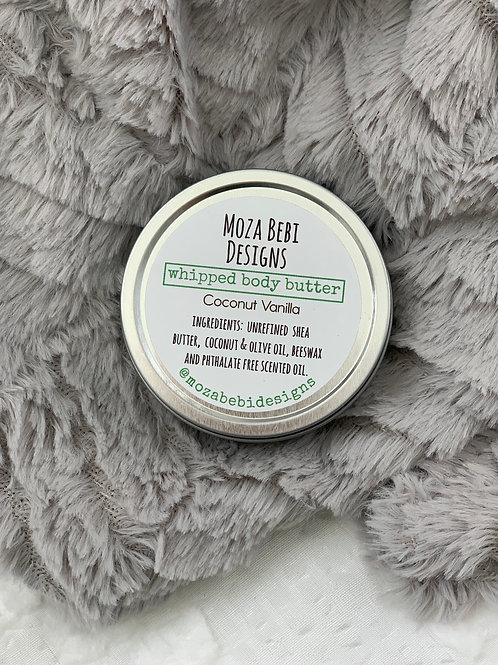 Coconut Vanilla Whipped Body Butter