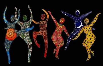 ecstatic dance, website banner