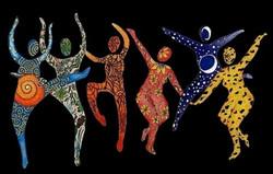 ecstatic dance, website banner