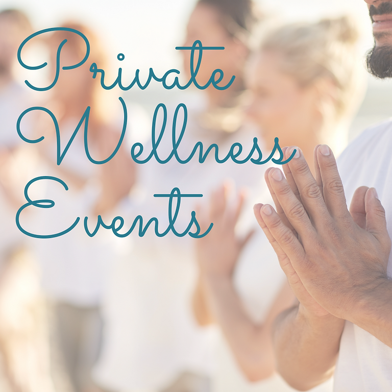 Private Wellness Events